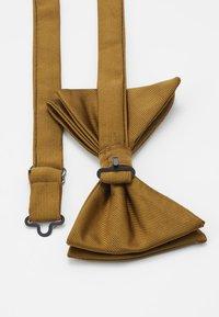 Burton Menswear London - DROOPY BOW - Bow tie - brown - 2