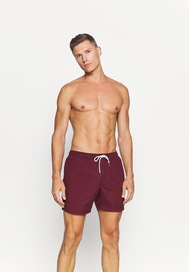 ENTRY SWIM - Shorts da mare - burgundy