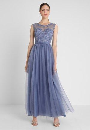 Společenské šaty - steal blue