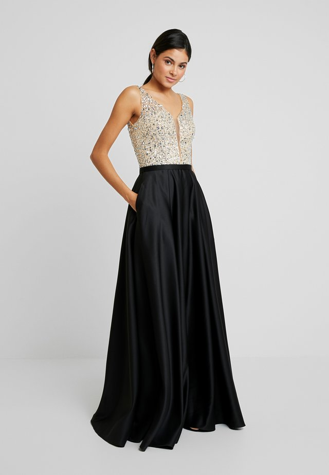 Ballkleid - black/nude