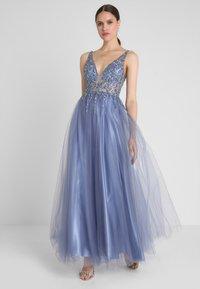 Mascara - Společenské šaty - steal blue - 0