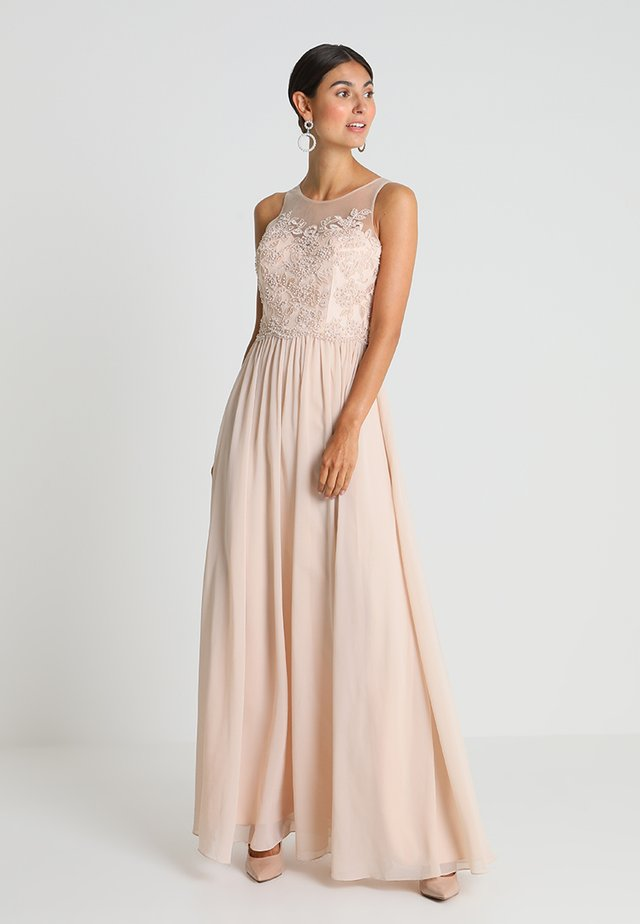 Suknia balowa - champagne