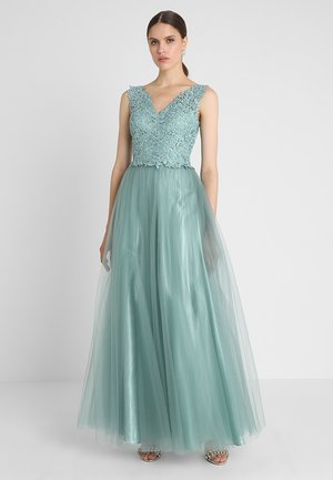 Suknia balowa - misty green