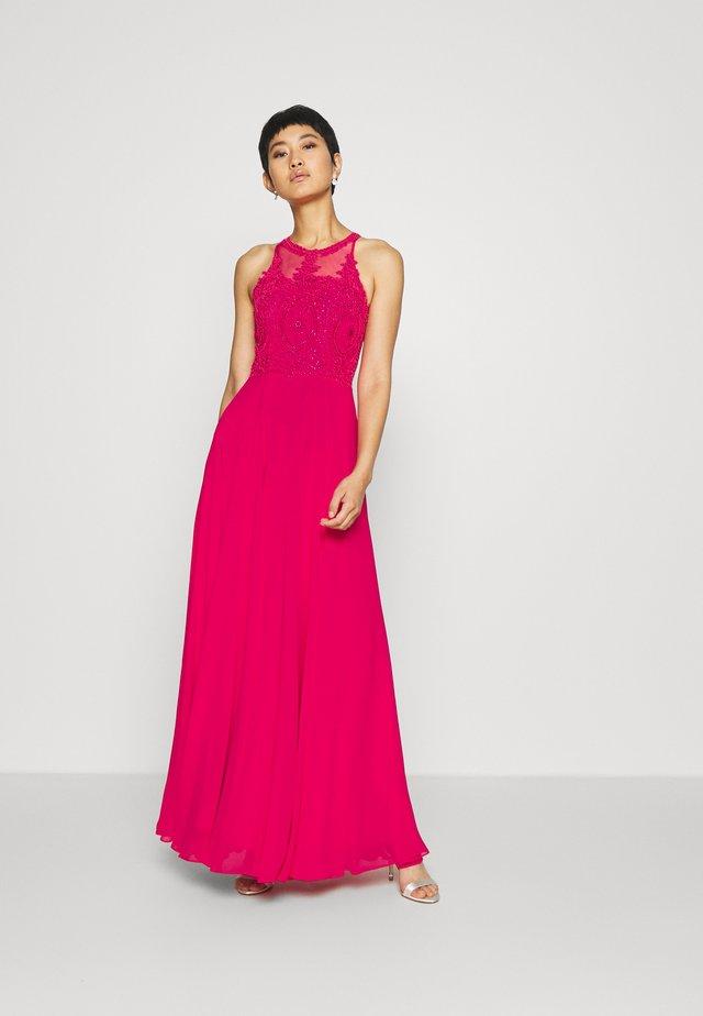 Suknia balowa - lipstick pink