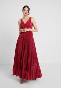 Mascara - Společenské šaty - rasberry - 2