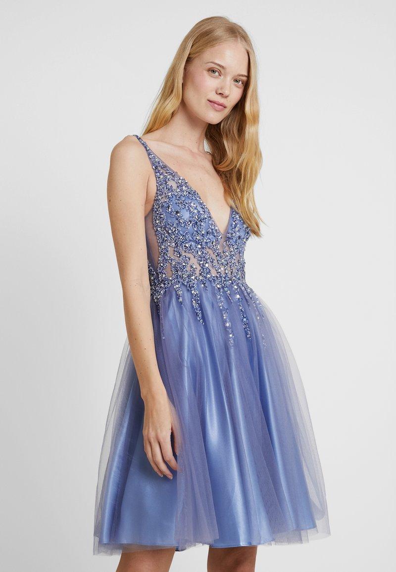 Mascara - Vestito elegante - steal blue