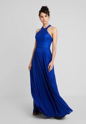 Ballkleid - velvet blue