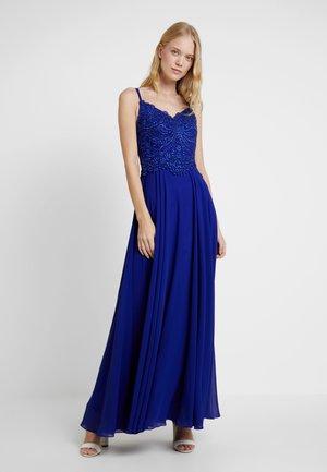 Společenské šaty - velvet blue
