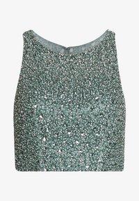 Mascara - SET - Maxi skirt - smokey green - 3