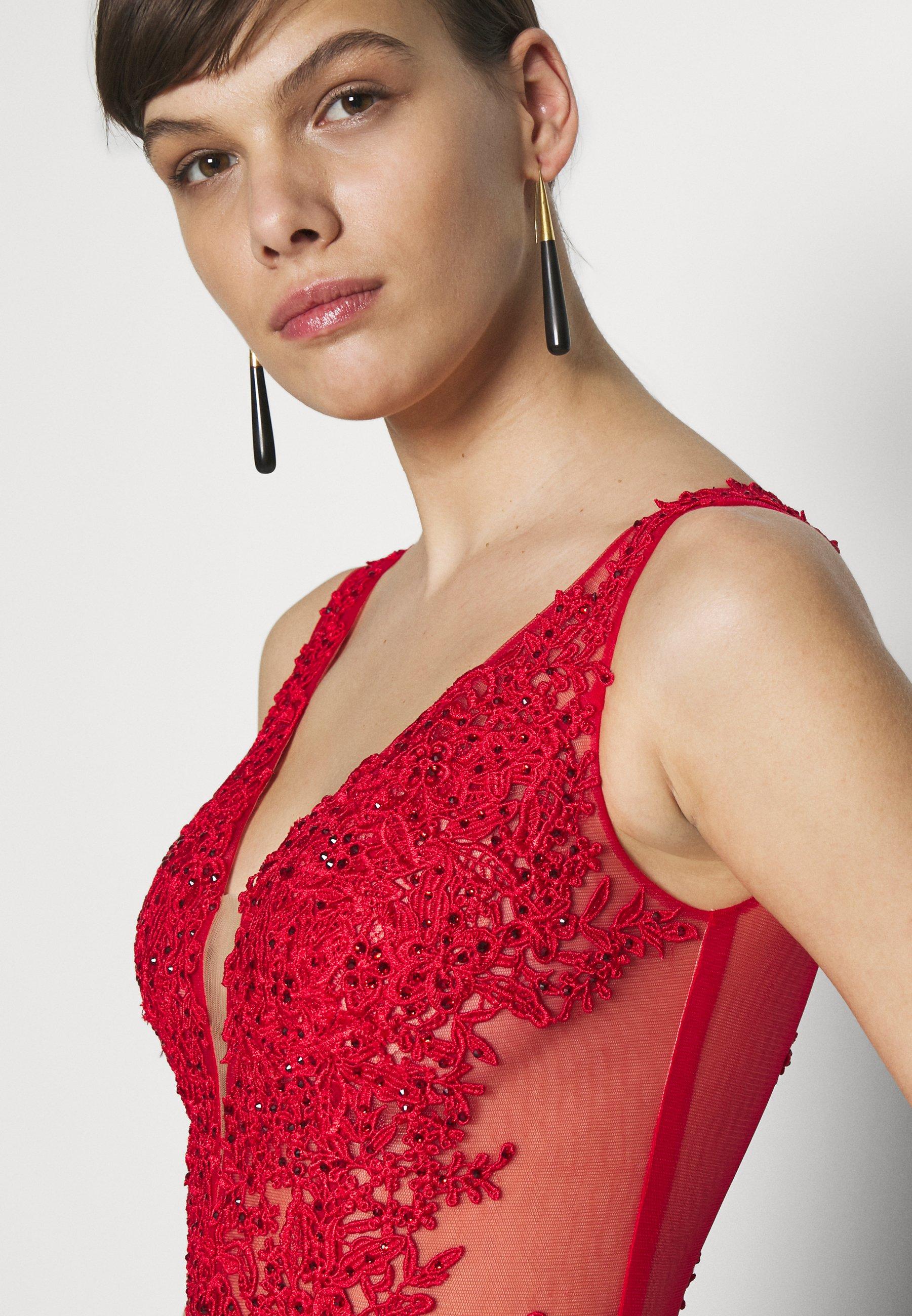 Mascara Suknia balowa - red