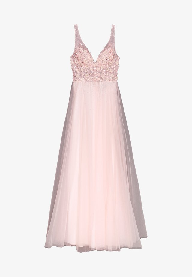 Gallakjole - pastel pink