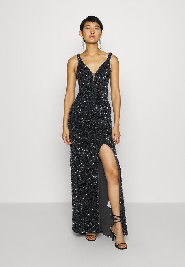 Festklänning - multi black