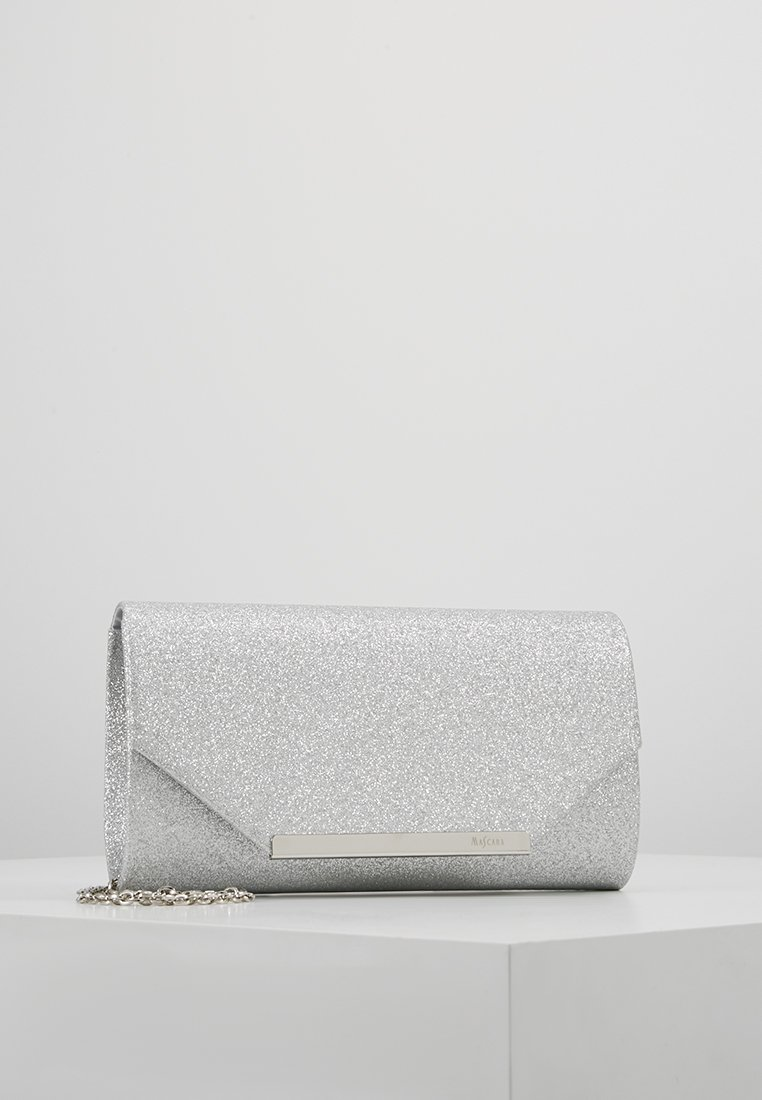 Mascara - ENVELOPE FOLD - Clutch - silver