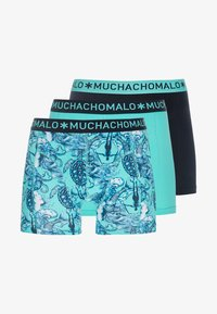 MUCHACHOMALO - DIVEN 3 PACK - Shorty - turquoise/black