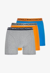 MUCHACHOMALO - SOLID 3 PACK - Shorty - grey/royal blue/orange - 3