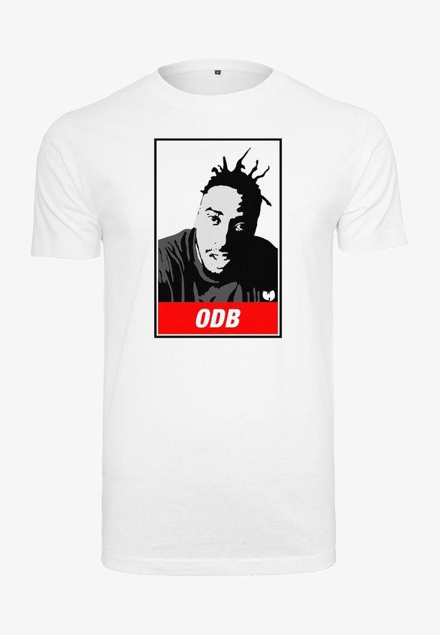 WU-WEAR ODB - T-shirt print - white
