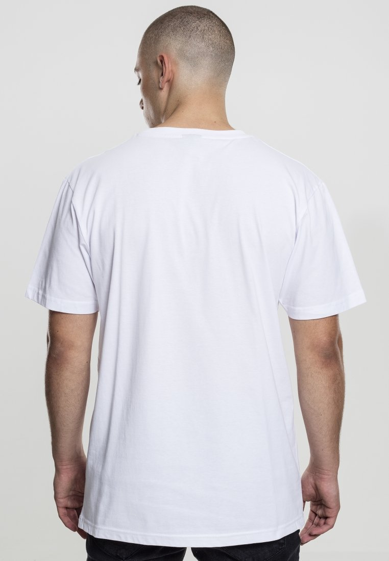 Tee shirt White Mister Imprimé FlamingoT deQoWBrxCE