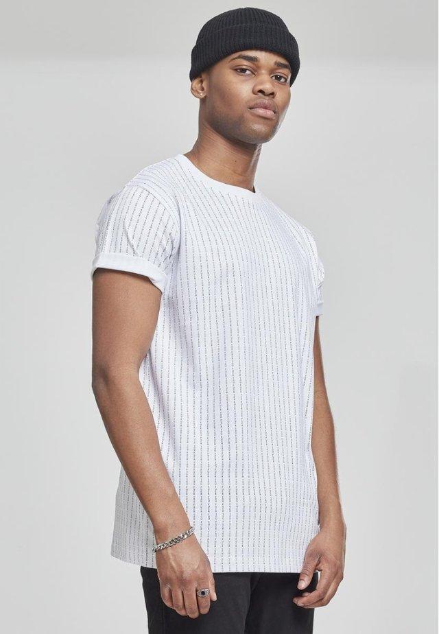 FUCK YOU TEE - T-Shirt print - white