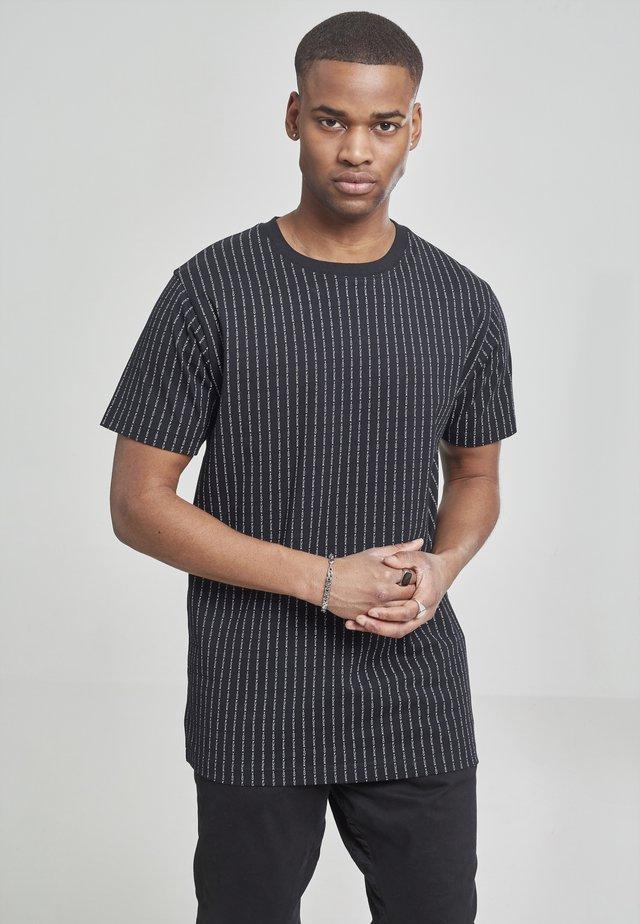FUCK YOU TEE - Print T-shirt - grey