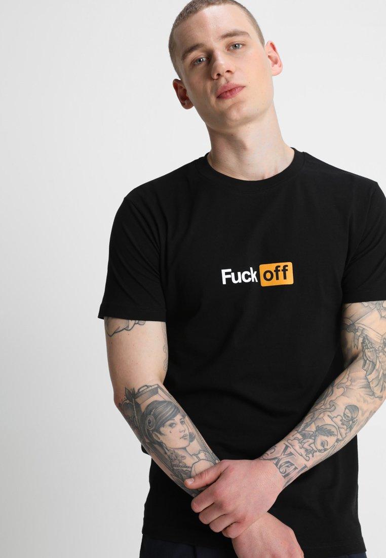 Mister Tee - TEE - T-shirt med print - black
