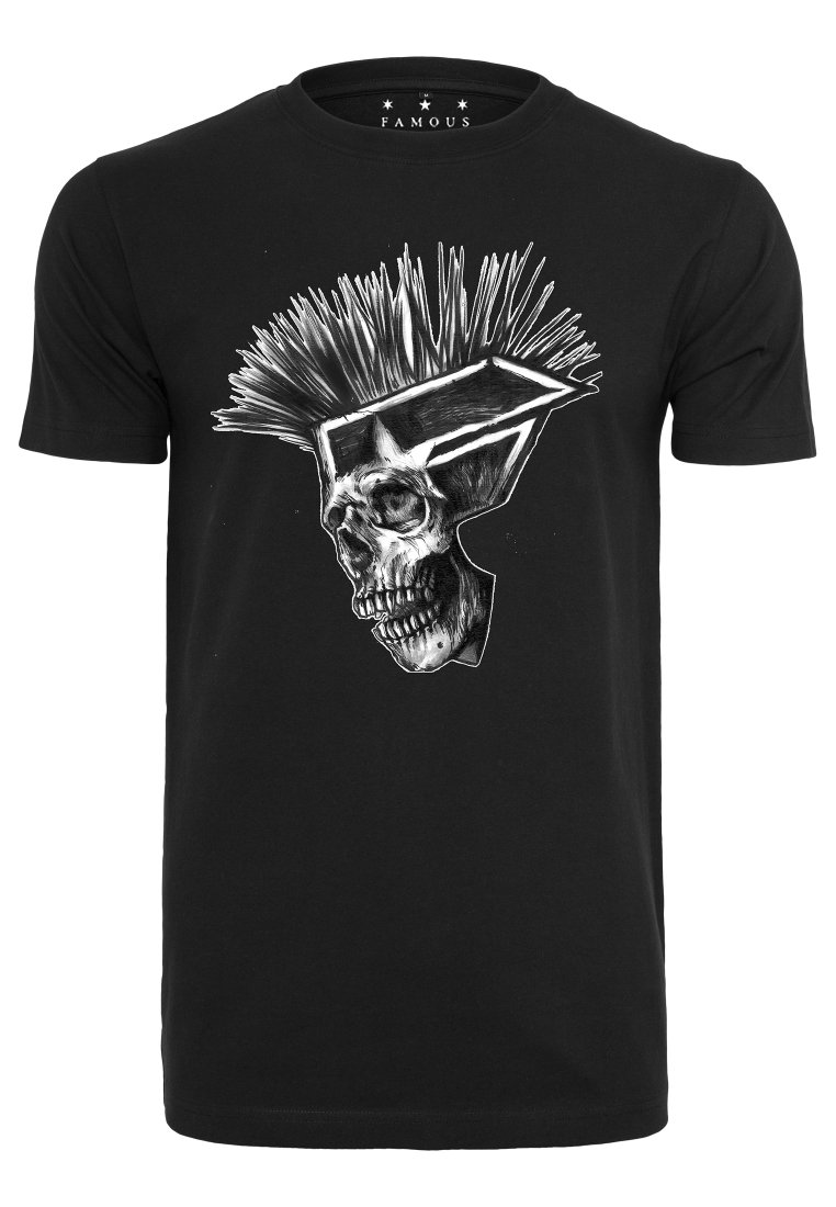Black Not Mister Imprimé Punks DeadT Tee shirt K1lJTuFc35