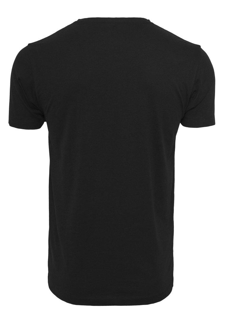 Mister Tee GORILLAZ LOGO TEE - T-shirt imprimé - black