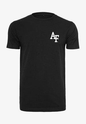 AIR FORCE LOGO TEE - T-shirt print - black