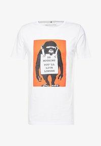 Mister Tee - BANKSY DO NOTHING TEE - T-shirt print - white - 3