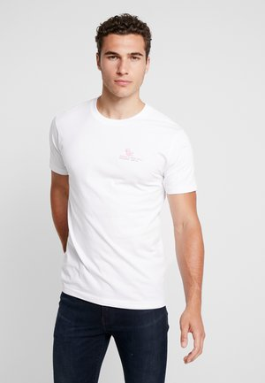 ADRIA GRILL TEE - T-shirt z nadrukiem - white