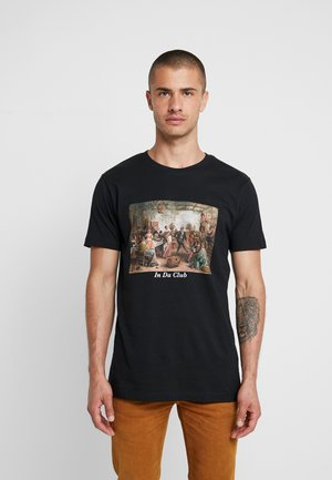 CLUB TEE - Print T-shirt - black
