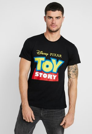 TOY STORY LOGO TEE - Camiseta estampada - black