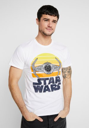 STAR WARS SUNSET TEE - Print T-shirt - white
