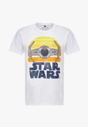 STAR WARS SUNSET TEE - Camiseta estampada - white