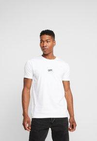 Mister Tee - OFF TEE - T-shirt print - white - 0