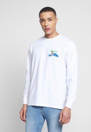 BAD GYAL TEE - Langærmede T-shirts - white