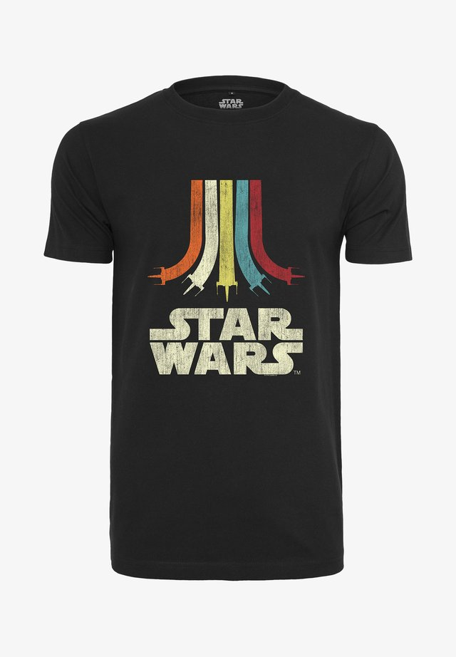 STAR WARS RAINBOW  - Camiseta estampada - black