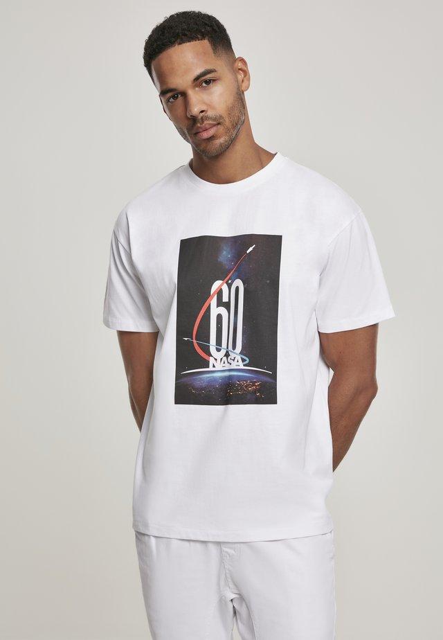 NASA  - T-shirt print - white