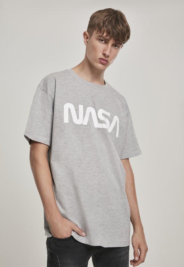 NASA - Print T-shirt - heather grey