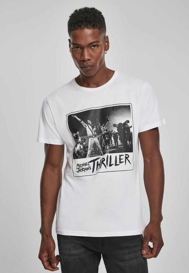 MICHAEL JACKSON COVER  - T-shirt print - white