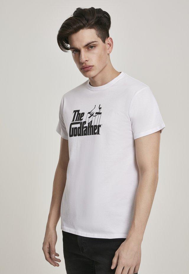 GODFATHER  - T-shirt imprimé - white