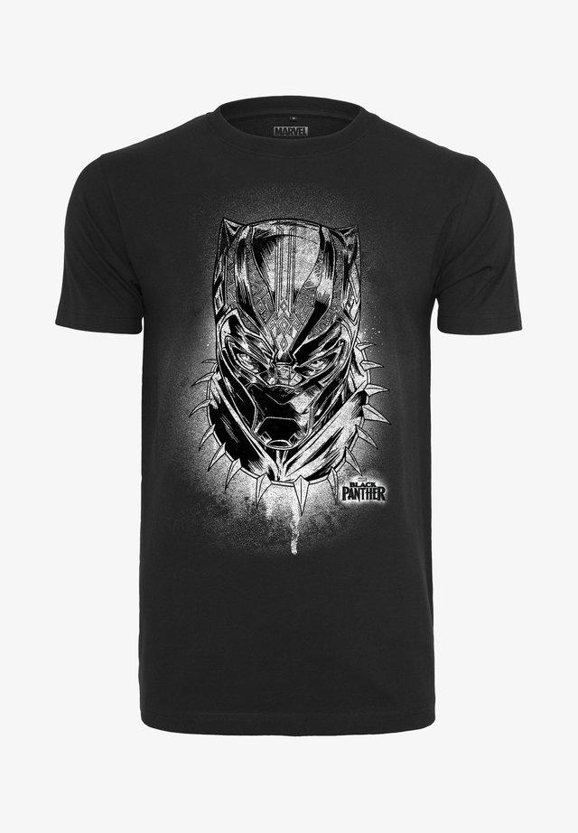 PANTHER SPRAY  - T-shirt print - black