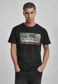 Mister Tee - CAN´T HANG WITH US  - T-shirt print - black - 0