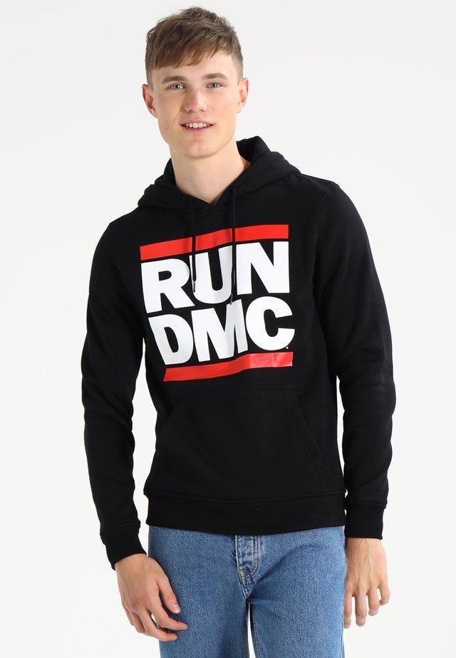 RUN DMC - Kapuzenpullover - black