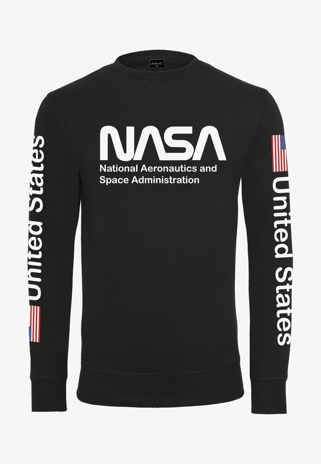 NASA US CREWNECK - Sweatshirt - black