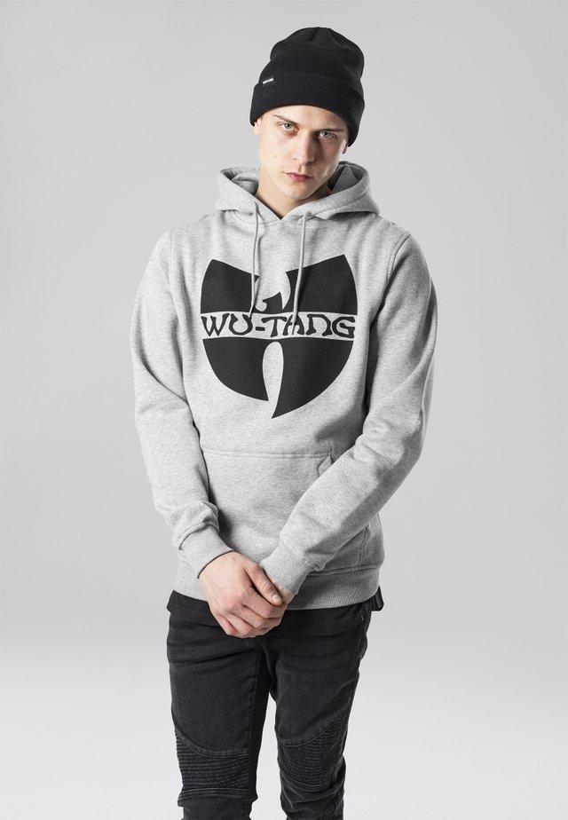 WU-WEAR  - Jersey con capucha - heather grey