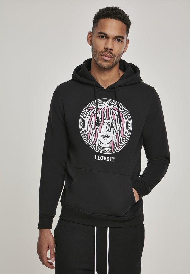 I LOVE IT - Jersey con capucha - black