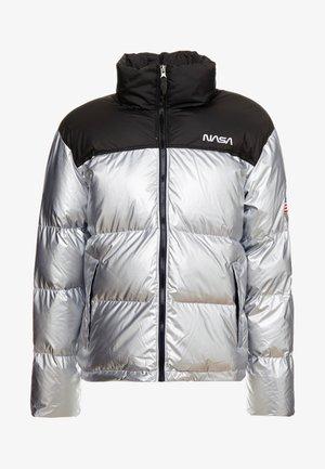 NASA PUFFER - Zimní bunda - coolgrey