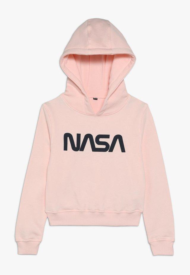 KIDS NASA CROPPED HOODY - Hoodie - rosa