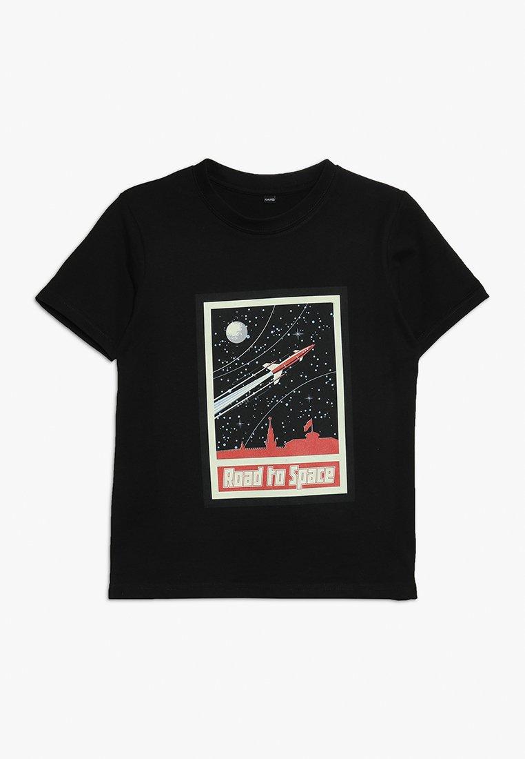 Mister Tee - ROAD TO SPACE TEE - T-shirt imprimé - schwarz