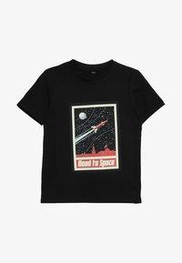 Mister Tee - ROAD TO SPACE TEE - T-shirt imprimé - schwarz - 2